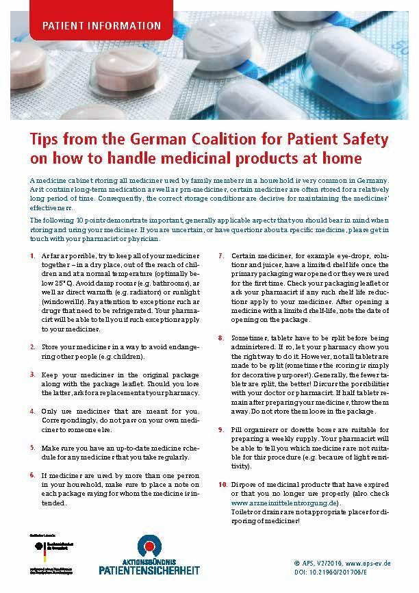 Aktionsbündnis Patientensicherheit